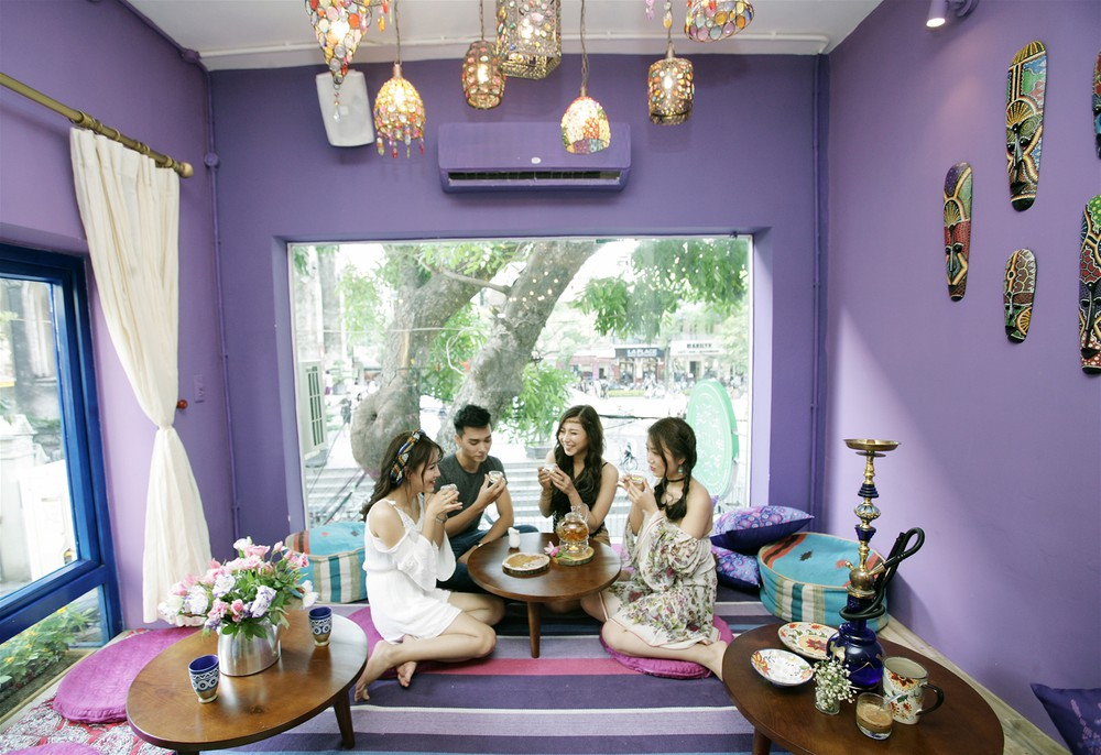 quán cafe bệt Hà Nội
