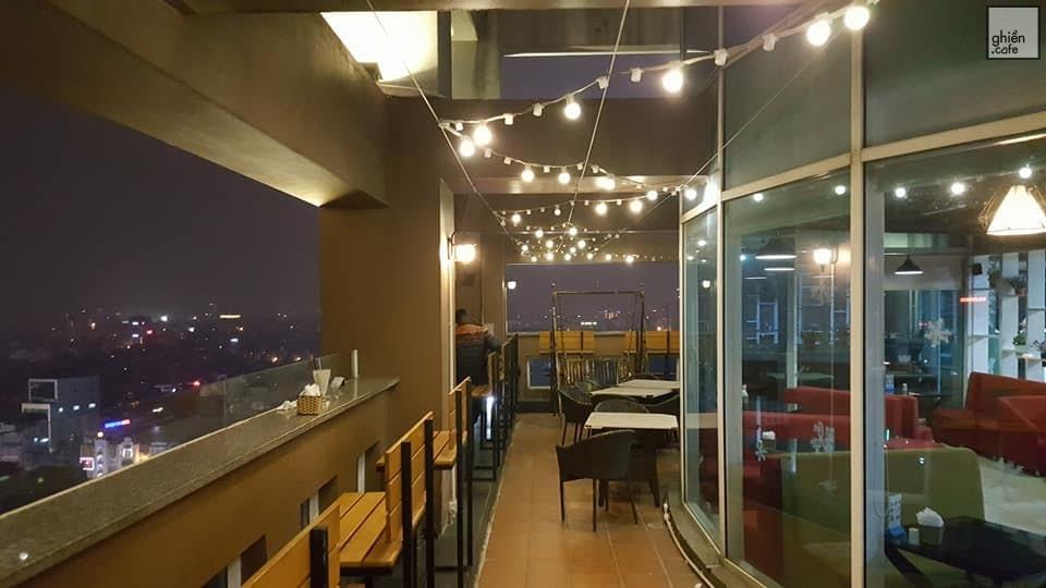 quán cafe trên cao Hà Nội