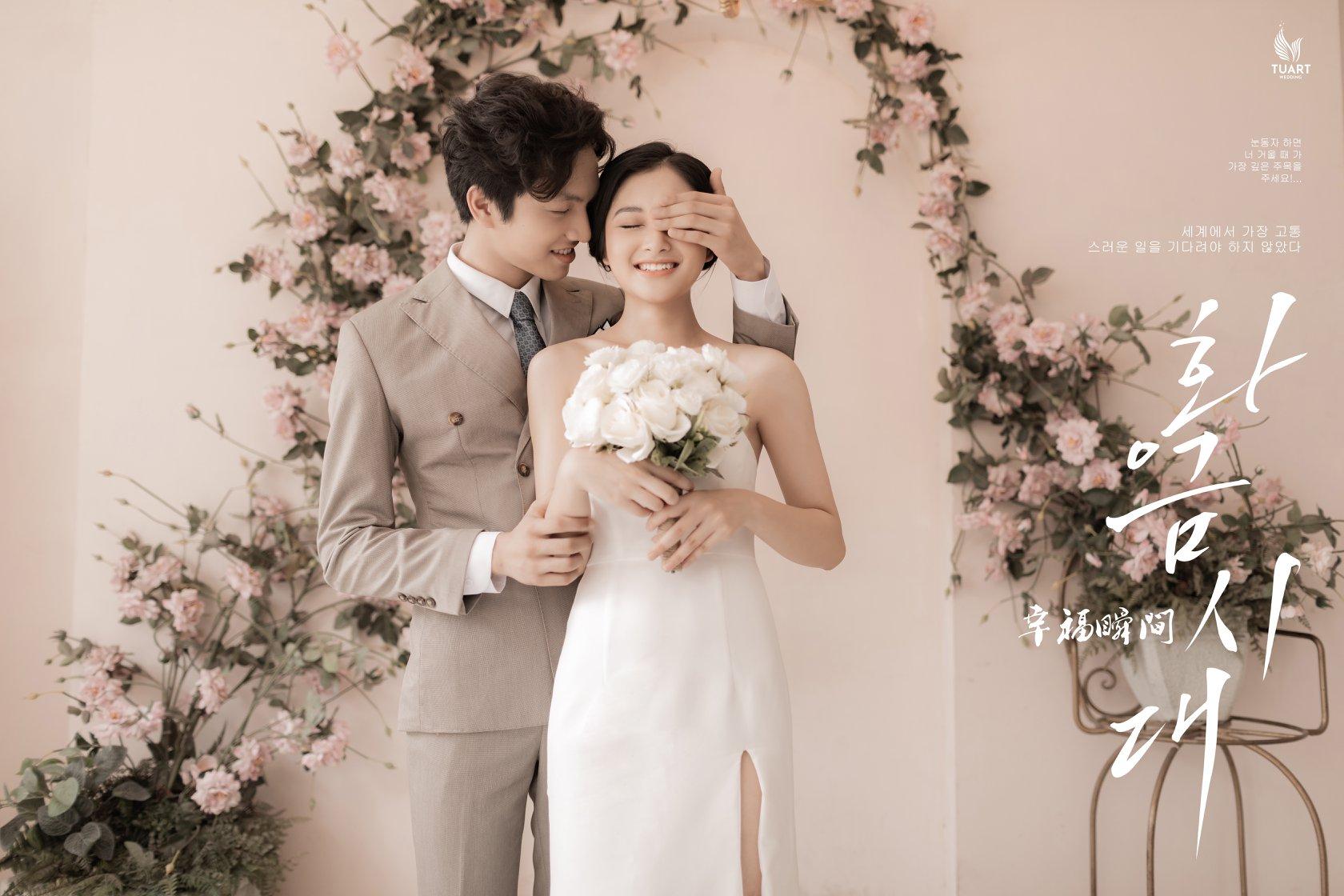 Chụp ảnh cưới phong cách Hàn Quốc Hà Nội