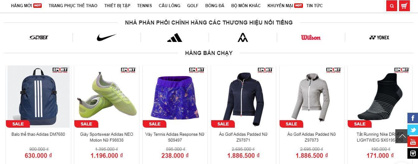 Shop Quần Áo Adidas Ở Hà Nội