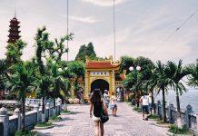 chùa cầu duyên ở Hà Nội
