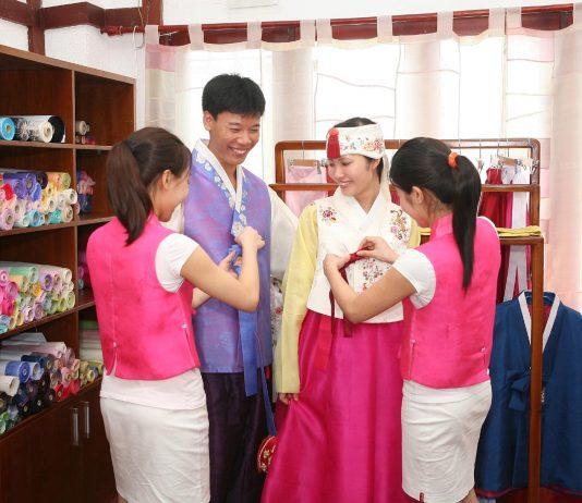cửa hàng cho thuê hanbok ở hà nội