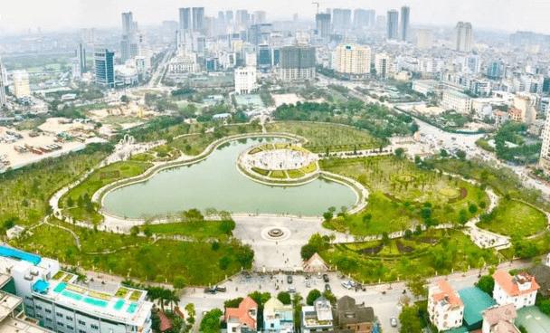 công viên văn hóa ở Hà Nội