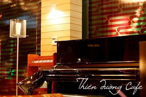 quán cafe hà nội có đàn piano