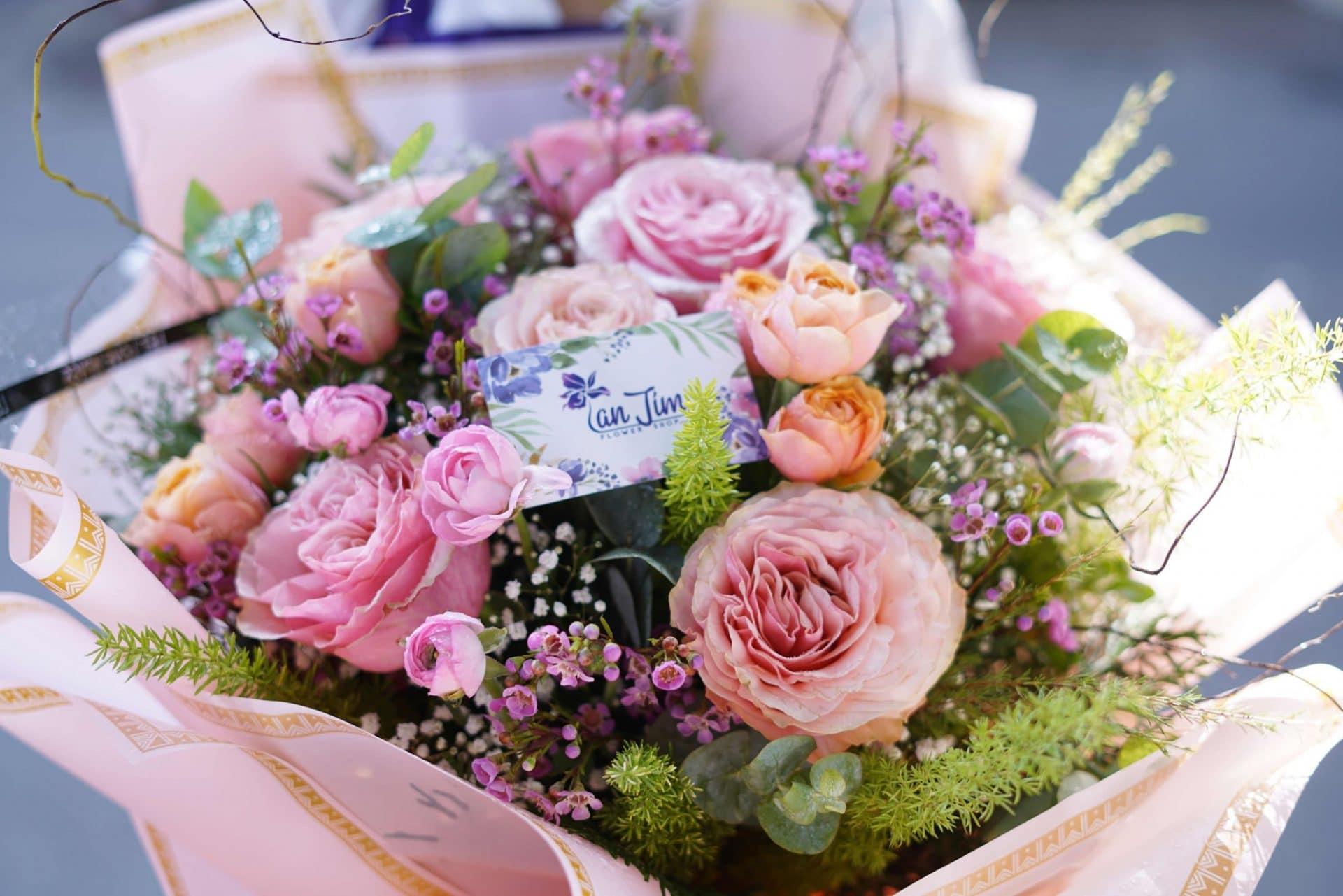 hoa tươi Lan Tím