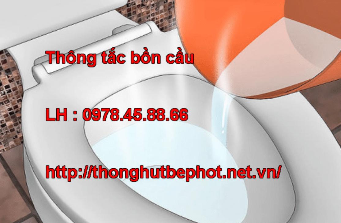 thông tắc bồn cầu Hà Nội