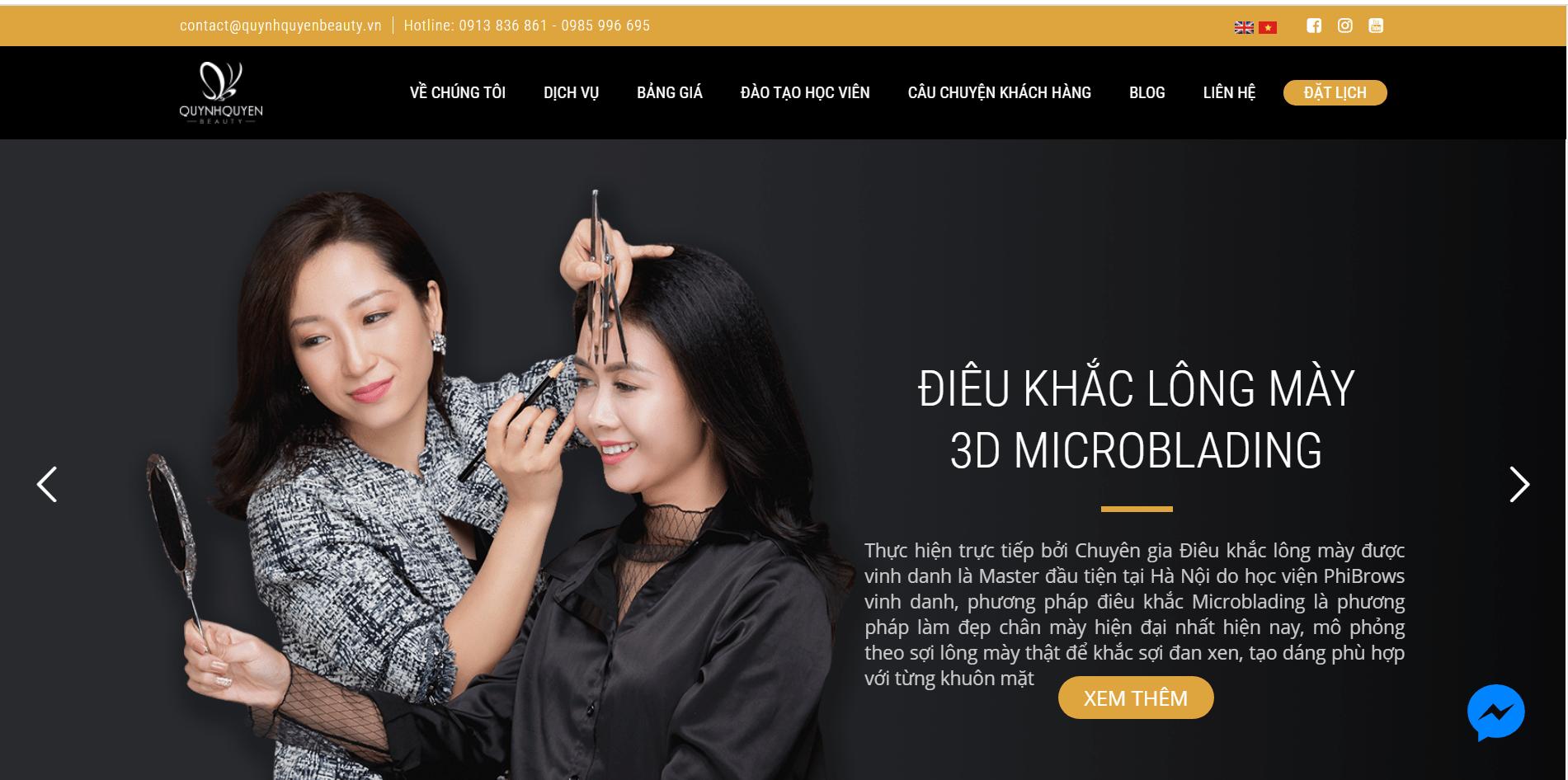 Quỳnh Quyên Beauty Hà Nội