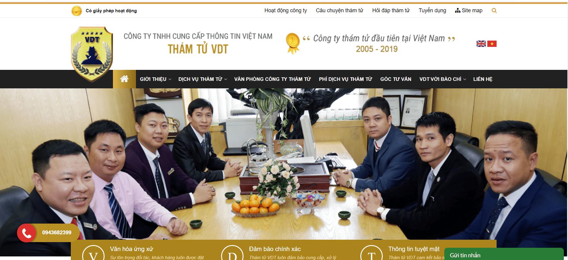 Thám tử VDT Hà Nội