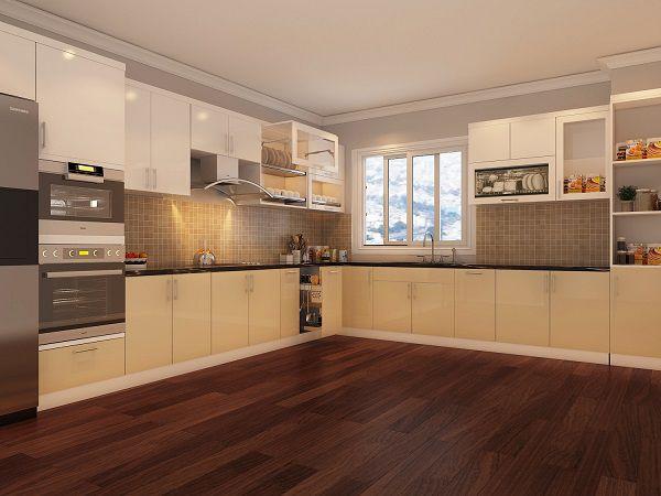 Thiết kế tủ bếp Hà Nội
