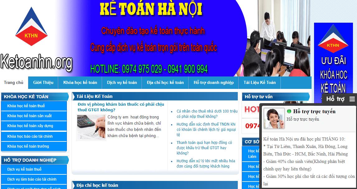 Trung Tâm Kế Toán Hà Nội