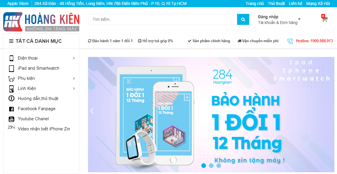 cửa hàng iphone hà nội