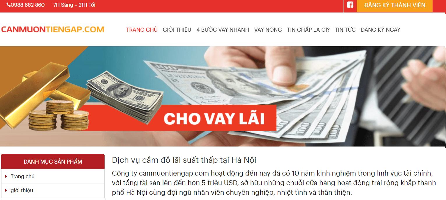 Cần Mượn Tiền Gấp Hà Nội