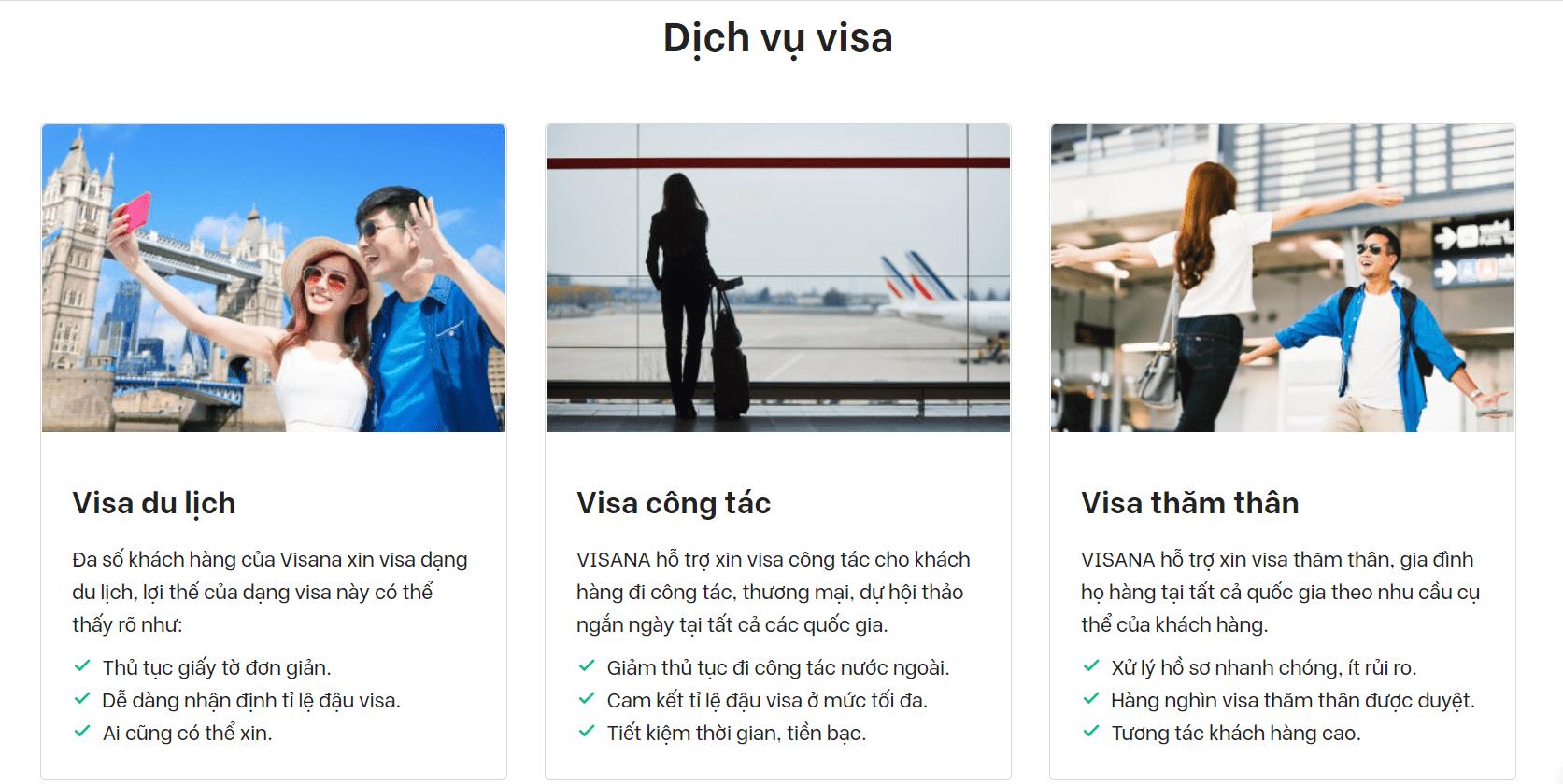dịch vụ hỗ trợ làm visa