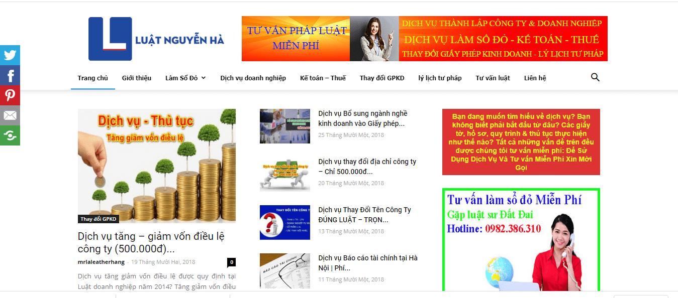 Luật Nguyễn Hà