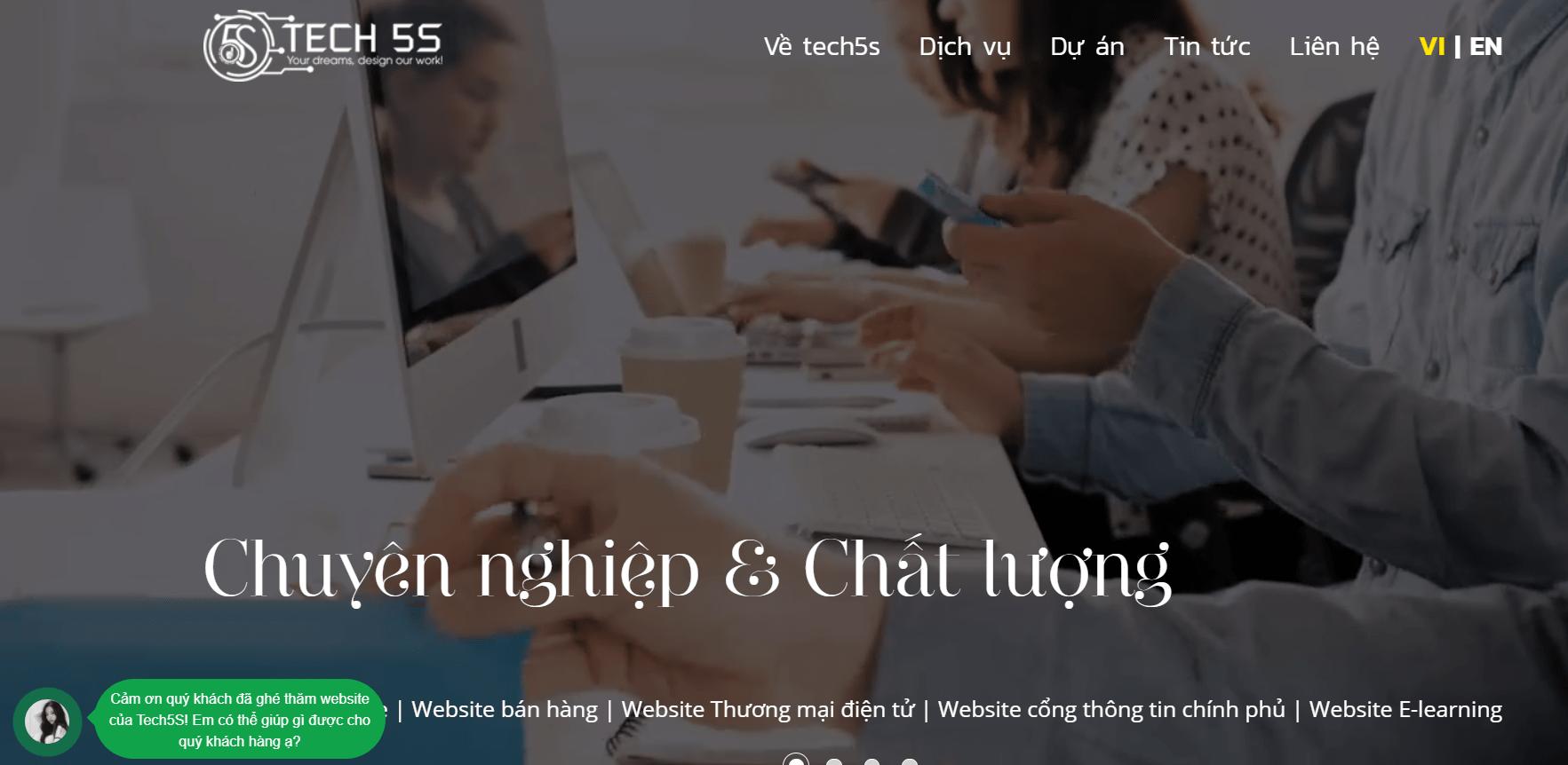 Công Ty Cổ Phần Công Nghệ Tech5s