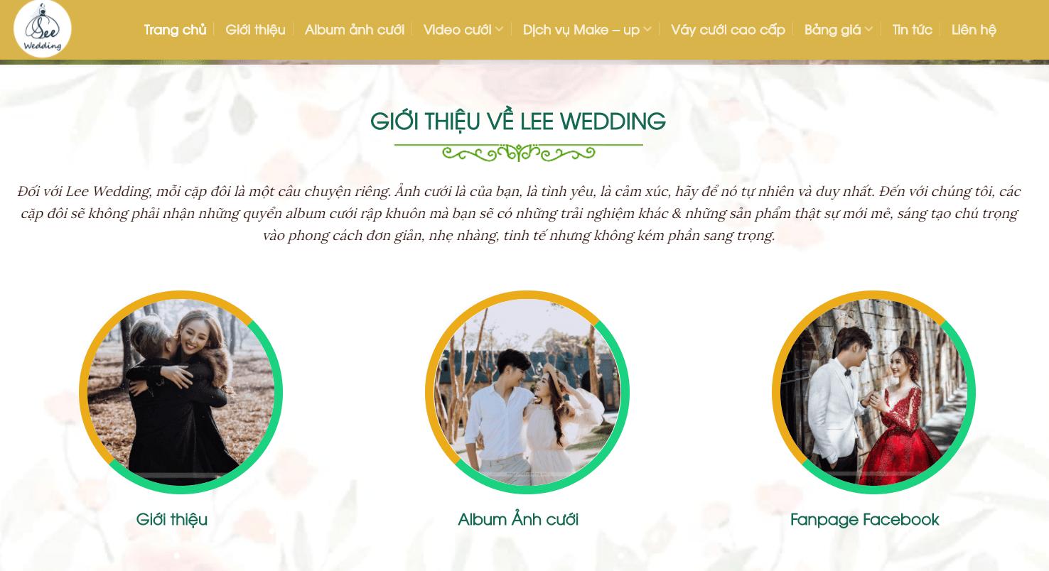 Lee Wedding - Chụp Ảnh Cưới Ở Hà Nội