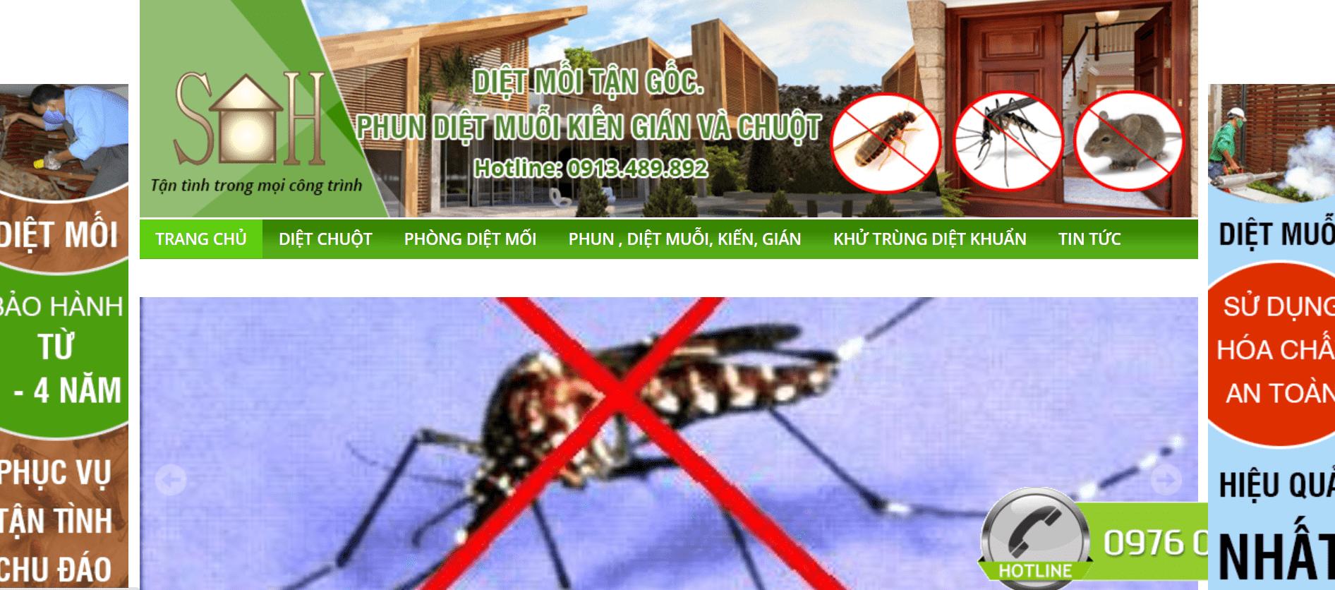 diệt côn trùng Hà Nội