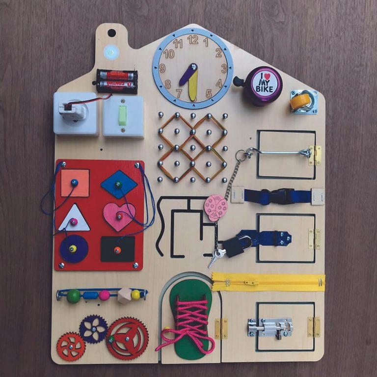 Đồ chơi ghép hình gỗ đa năng