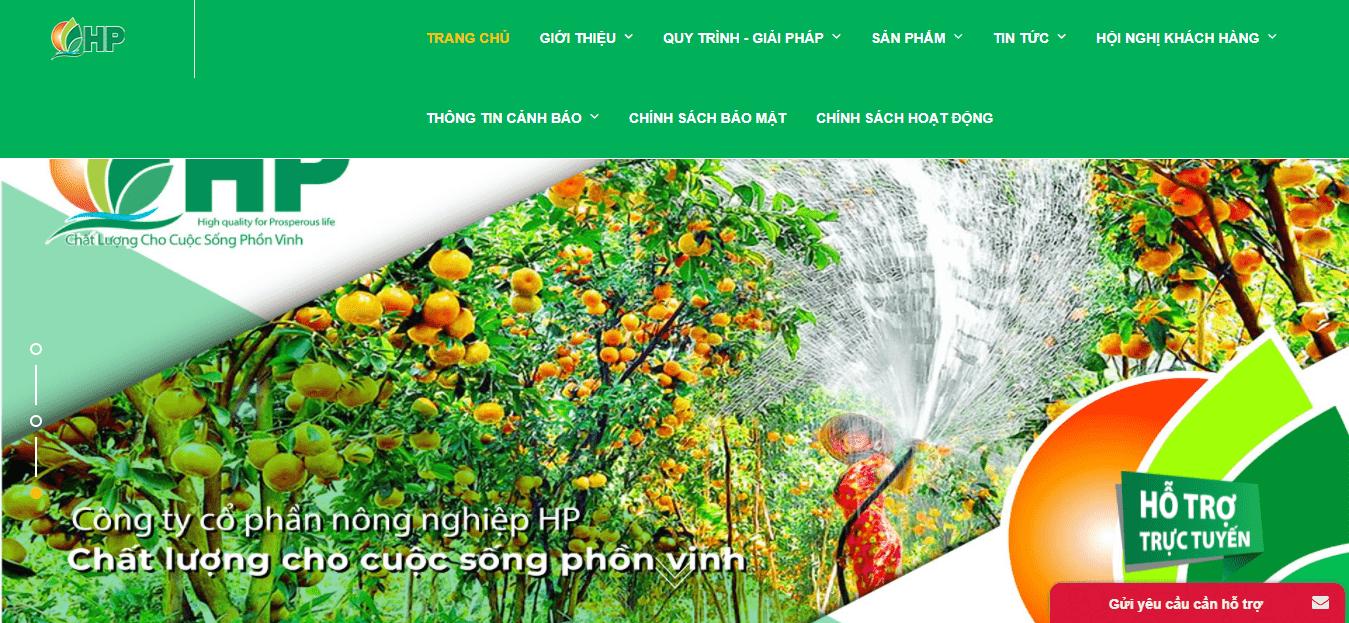 đại lý phân bón Hà Nội - HP