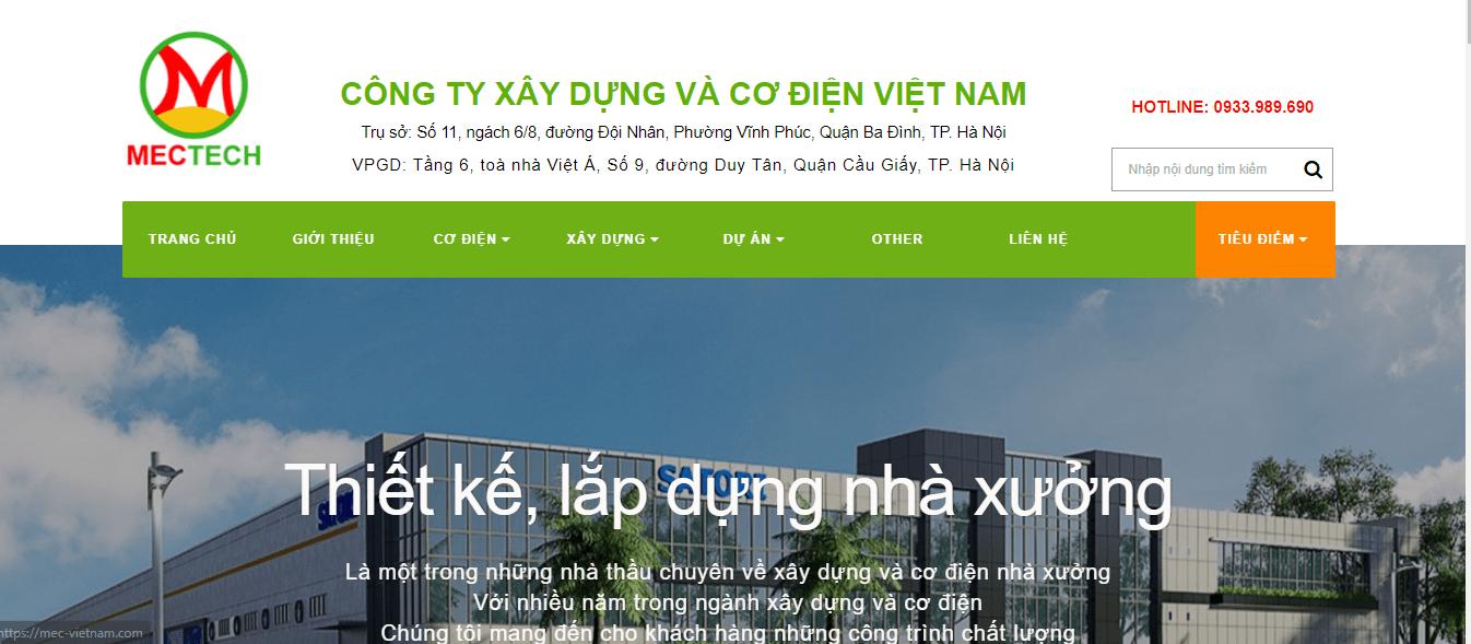 hệ thống làm mát nhà xưởng tại Hà Nội - MecTech