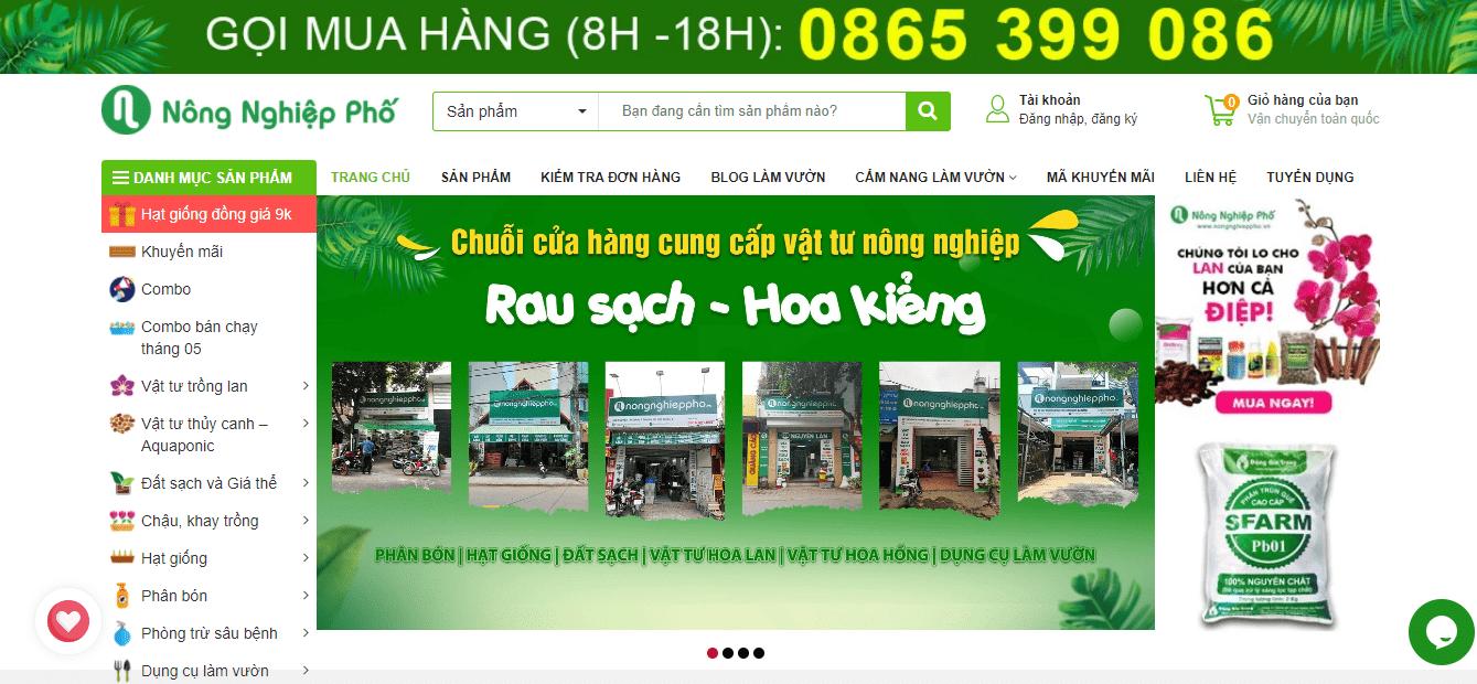 đại lý phân bón Hà Nội - Nông nghiệp phố