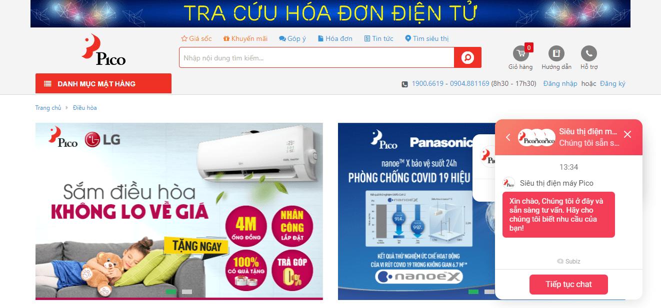 máy lọc không khí Hà Nội - Pico