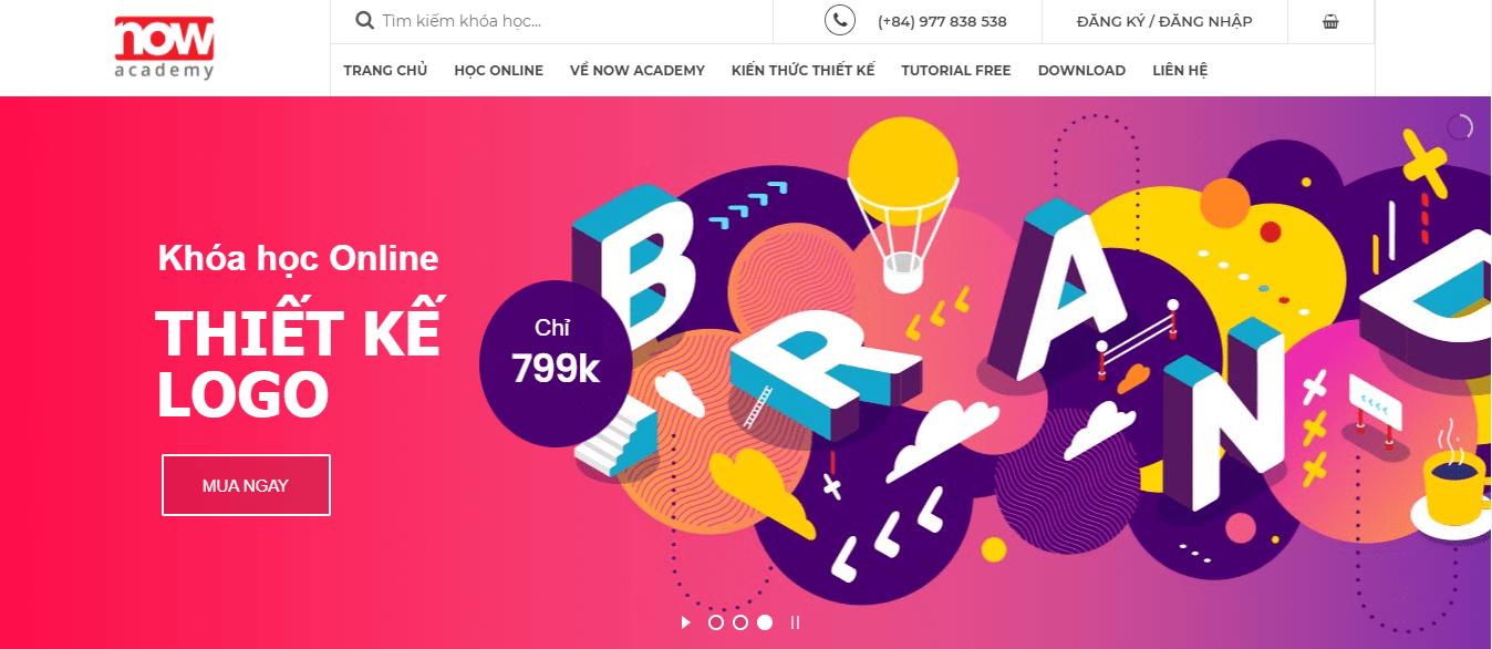 khóa học thiết kế đồ họa ngắn hạn Hà Nội - Now Academy