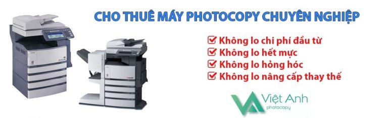 Đơn vị Cho Thuê Máy Photocopy Uy Tín