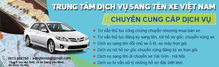 Trung Tâm Sang Tên Xe Việt Nam
