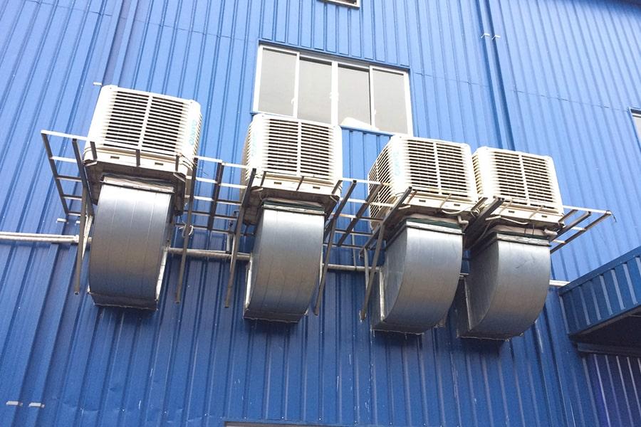 hệ thống làm mát nhà xưởng tại Hà Nội - Vtec Asia
