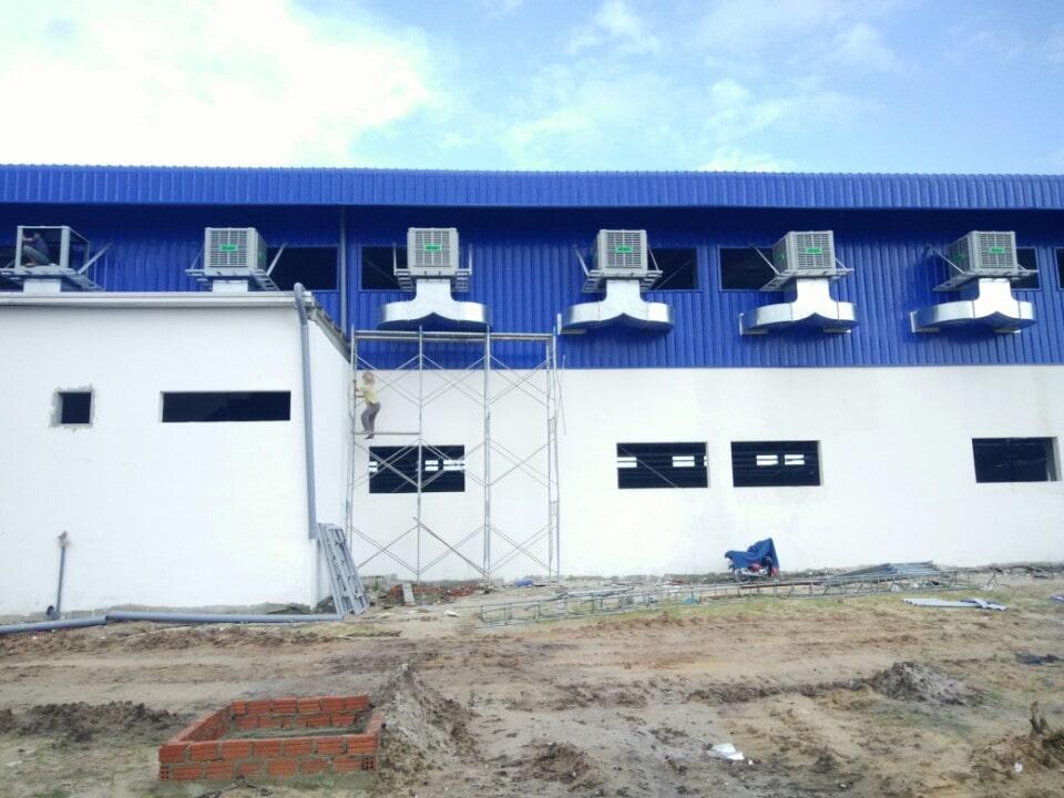 hệ thống làm mát nhà xưởng tại Hà Nội - system fan