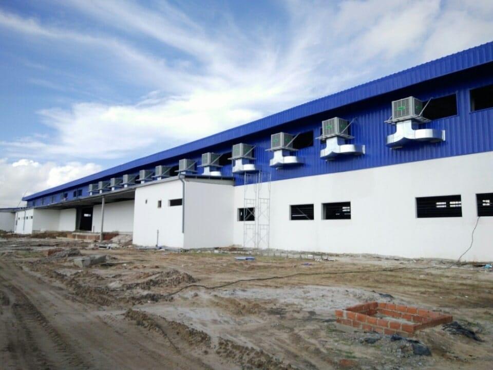 hệ thống làm mát nhà xưởng tại Hà Nội - Panoma