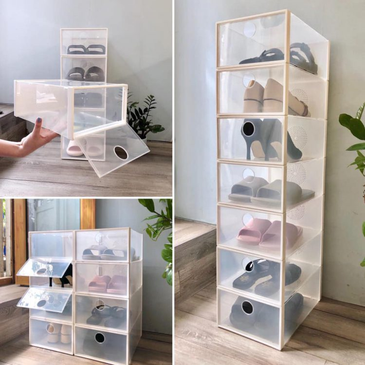 hộp đựng giày nhựa cứng Hà Nội