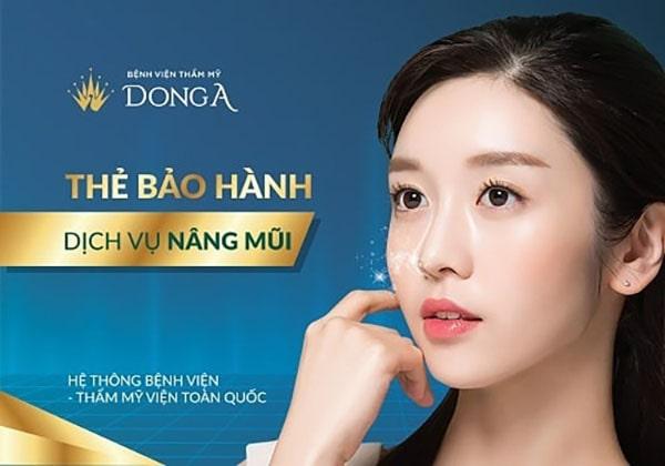 nâng mũi Hà Nội - Đông Á